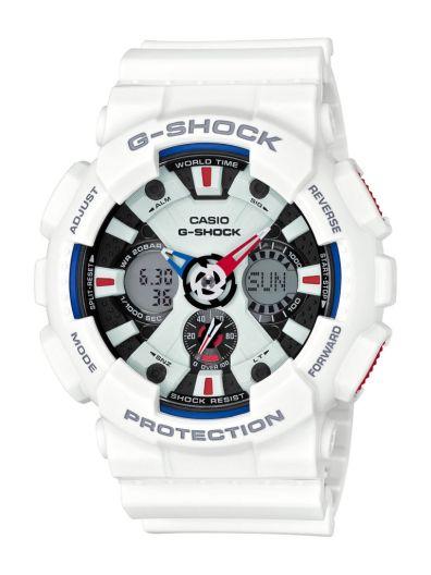 Conoce las tres colecciones White G-Shock - ga-120tr-7a_jf