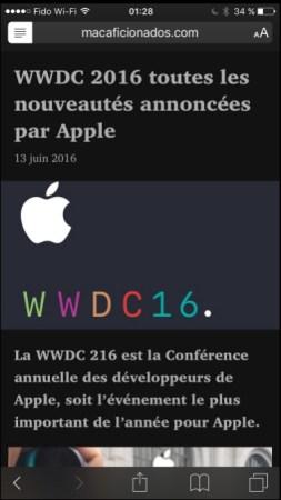 iOS 10 incorporaría modo oscuro - ios-dark-mode-5
