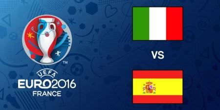 Italia vs España, Octavos de la EURO 2016 | Resultado: 2-0