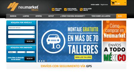 Neumarket llega a México, la e-commerce especializada en llantas