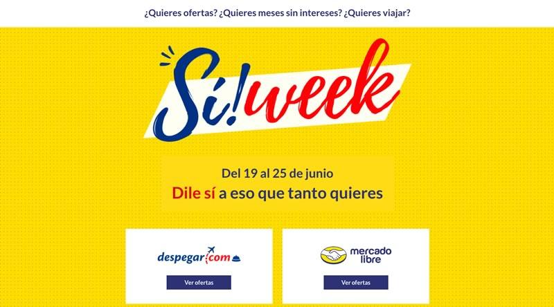 si week despegar com mercadolibre Despegar.com y MercadoLibre impulsan el e commerce en México con Sí! Week