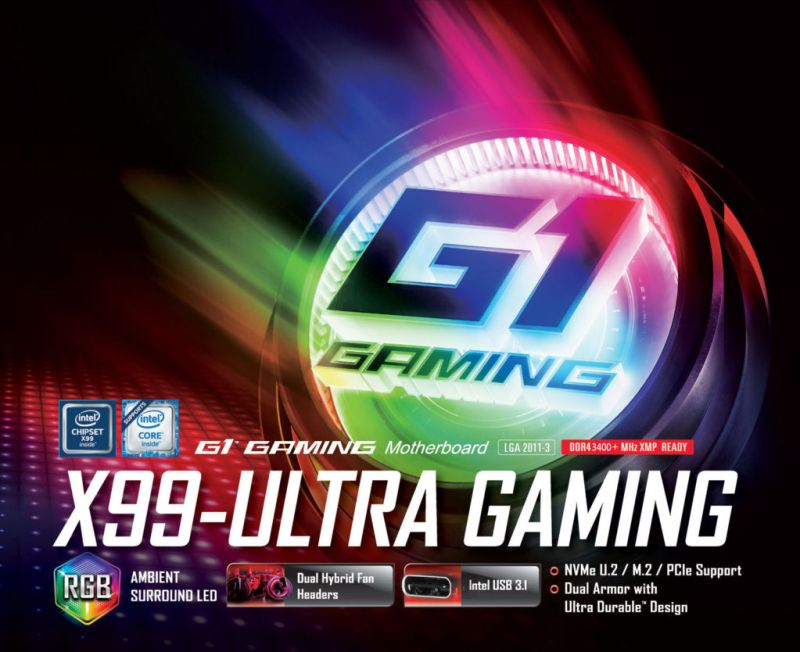 Computex 2016: GIGABYTE presenta nueva línea de motherboards y Brix - x99-ultra-gaming-800x652