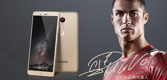Cristiano Ronaldo, será la imagen de la marca NUBIA a nivel mundial - zte-nubia-cristiano-ronaldo