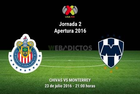 Chivas vs Monterrey, Jornada 2 del Apertura 2016 | Resultado: 1-0