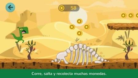 Dinos Jump: la app para niños que te lleva jugando a la prehistoria