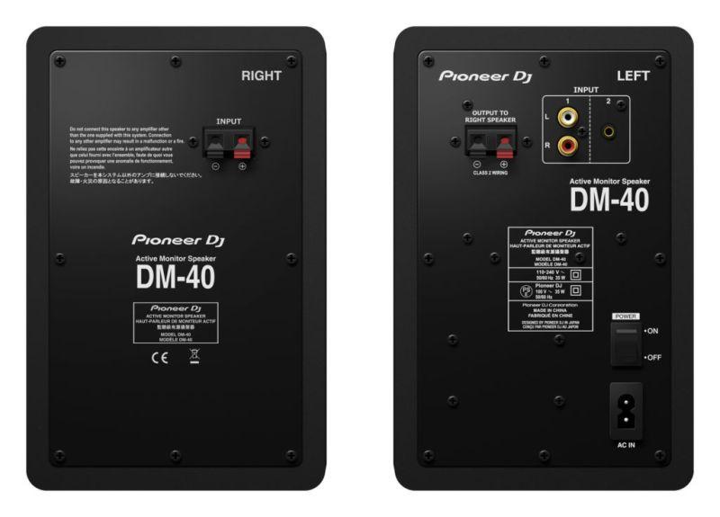 Nuevos monitores de escritorio DM-40 de Pioneer DJ, ya disponibles en México - dm-40_monitores-de-escritorio-dm-40-de-pioneer-dj