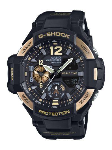 G-Shock anuncia lanzamiento de nuevos colores del Gravitymaster Serie GA1100 - ga-1100-9g_jf_dr