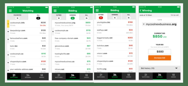 GoDaddy lanza la aplicación para inversionistas de dominios - inversor-godaddy-1-800x366