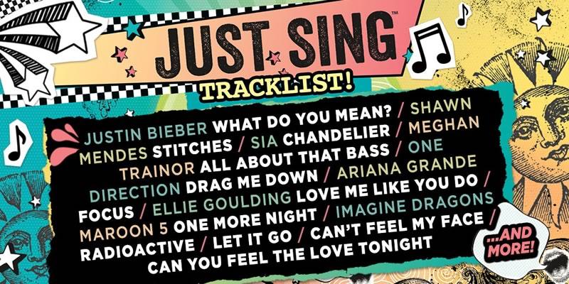 Just Sing, el nuevo juego musical de Ubisoft - just-sing