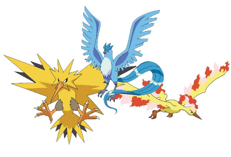 Jugador logra captura todas las criaturas de Pokémon GO - legendarybirds-800x543
