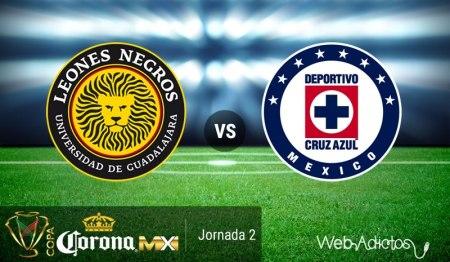Leones Negros UDG vs Cruz Azul, Copa MX AP2016 ¡En vivo por internet!