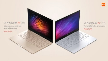 Mi Notebook Air: la primera laptop de Xiaomi