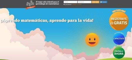 Sofía XT, el sitio infantil para aprender matemáticas