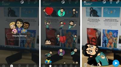 Ahora en Snapchat puedes crear tu propio emoji personalizado - stickers-snapchat-vincular-simplemente-pegarlos_claima20160721_0378_17