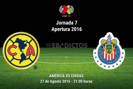 América vs Chivas, Clásico en la J7 del A2017 | Resultado: 0-3