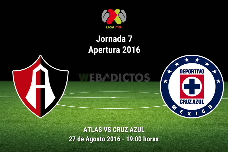 Atlas vs Cruz Azul, J7 del Apertura 2016   Resultado: 1-1 - atlas-vs-cruz-azul-apertura-2016