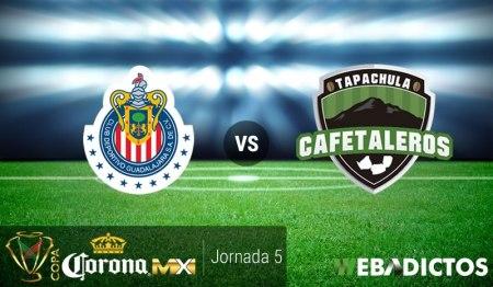 Chivas vs Tapachula, Copa MX Apertura 2016 ¡En vivo por internet!