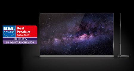 OLED TV de LG en los ESIA AWARDS, como el mejor televisor de gama alta