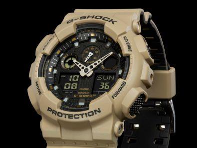 GA100L Military Color Series, nueva colección de relojes G-Shock - ga-100l-8a_01