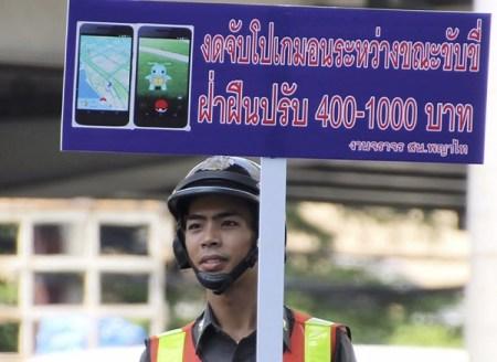 Crean la «Policía Pokémon GO» en Tailandia