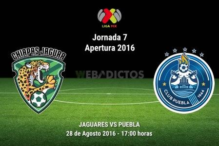Jaguares vs Puebla, Fecha 7 del Apertura 2016 | Resultado: 0-2