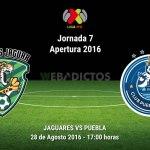 Jaguares vs Puebla, Fecha 7 del Apertura 2016 ¡En vivo por internet!