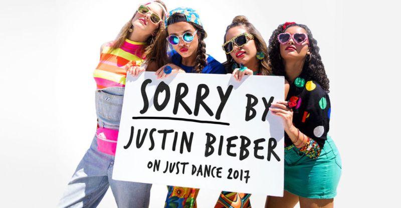 just dance 2017 sorry by justin bieber 800x415 Ubisoft estrena el demo gratuito de Sorry de Justin Bieber en Just Dance 2017