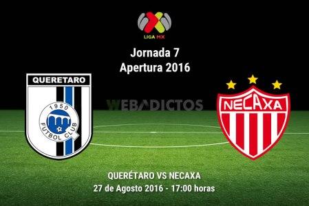 Querétaro vs Necaxa, Jornada 7 del Apertura 2016 ¡En vivo por internet!