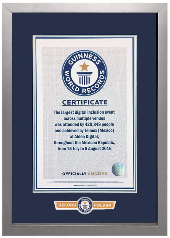 Aldea Digital 2016 logró nuevo Récord Guinness - record-guinness-aldea-digital-2016
