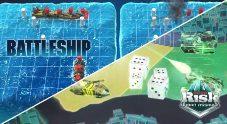 Ya disponibles versiones para consola de RISK Urban Assault y Battleship