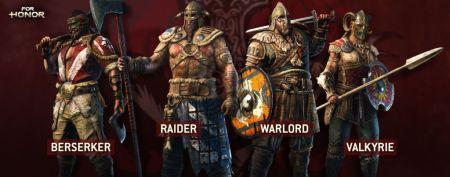 For Honor revela su alineación completa de héroes y modos multijugador