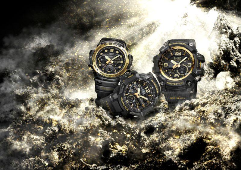 G-SHOCK presenta su nueva colección Vintage Black & Gold - vintage-gold_w40cm-800x566
