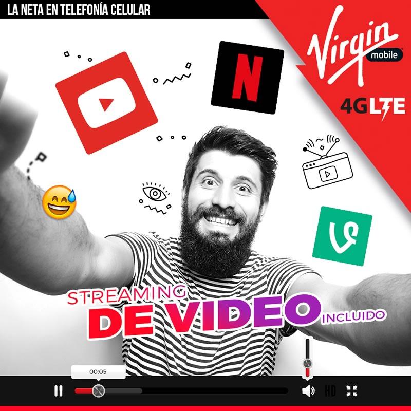Virgin Mobile incluirá streaming de video en sus datos para nuevos usuarios - virgin-mobile-streaming-incluido
