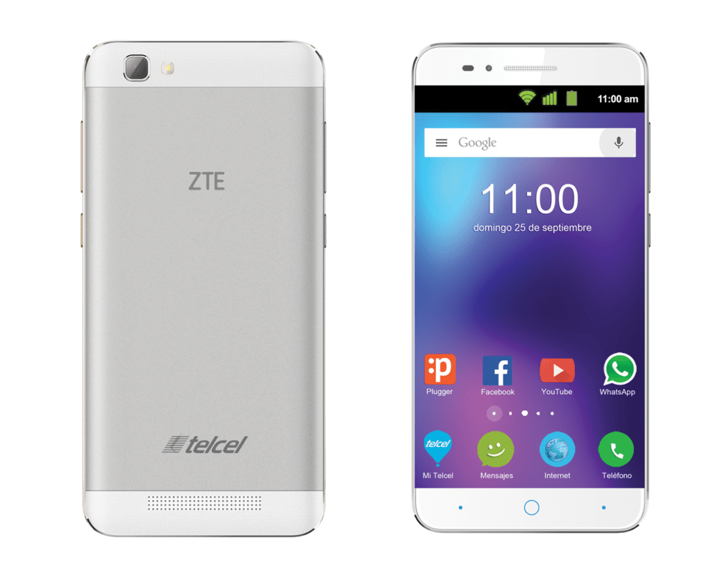 from left zte v6 plus otg Matheson-Bell company made