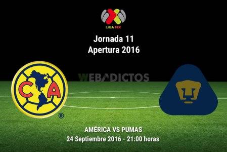 América vs Pumas, clásico capitalino en el A2016 ¡En vivo por internet!