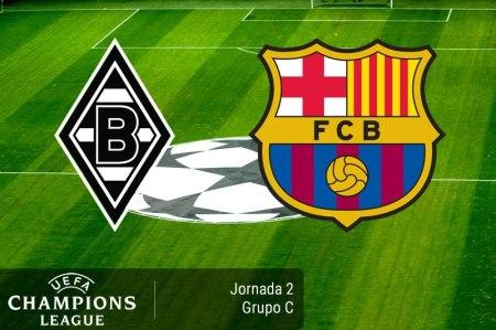 Borussia Mönchengladbach vs Barcelona ¡En vivo por internet! | Champions 2016 – 2017