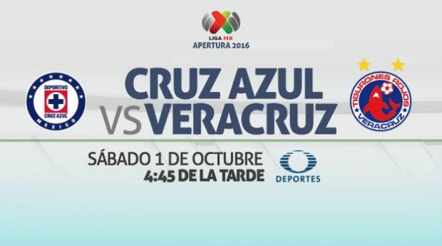 Cruz Azul vs Veracruz, J12 del Apertura 2016 | Resultado: 5-3 - cruz-azul-vs-veracruz-en-vivo-j12-apertura-2016