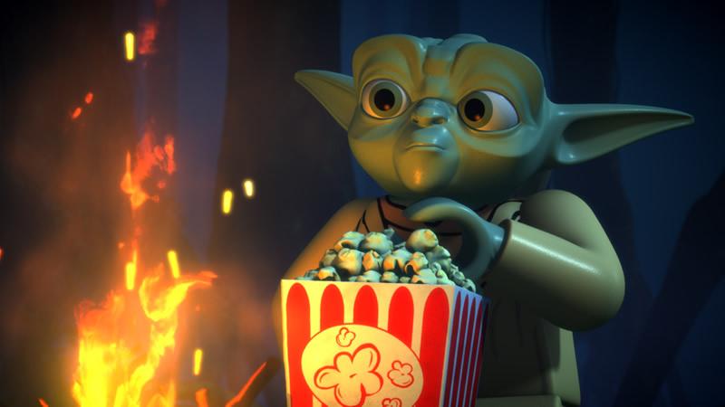 La saga completa de Star Wars llega a Netflix América Latina - lego-star-wars-netflix