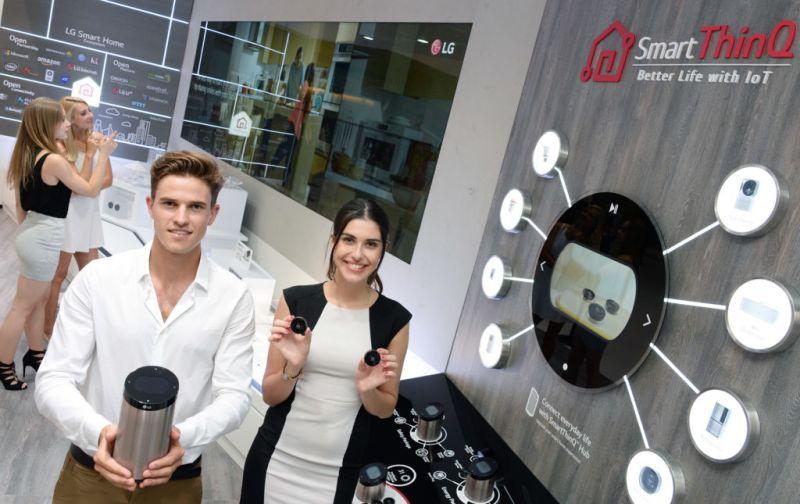 Ecosistema de Internet de las Cosas de LG en colaboración con Amazon - lg-smart-home-solution-1-800x504