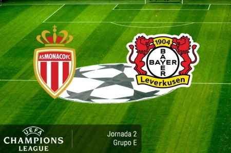 Mónaco vs Bayer Leverkusen, Champions 2016 – 2017 ¡En vivo por internet! | Jornada 2