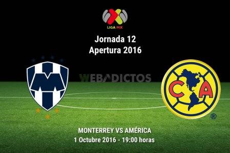 Monterrey vs América, Liga MX Apertura 2016 ¡En vivo por internet! | Jornada 12