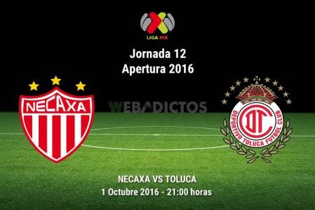 Necaxa vs Toluca, J12 del Apertura 2016 ¡En vivo por internet!