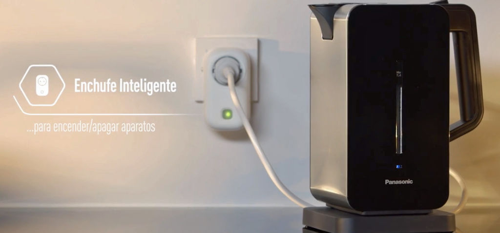 Panasonic Home Network: nuevo sistema de videovigilancia residencial - panasonic-home-network-enchufe-inteligente