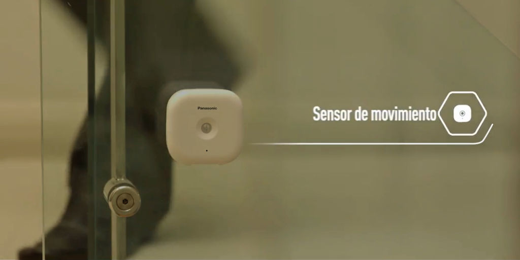 Panasonic Home Network: nuevo sistema de videovigilancia residencial - panasonic-home-network-sensor-movimiento