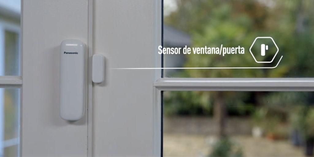 Panasonic Home Network: nuevo sistema de videovigilancia residencial - panasonic-home-network-sensor-ventana-o-puerta