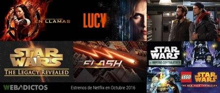 Qué ver en Netflix en Octubre 2016; conoce todos los estrenos destacados del mes