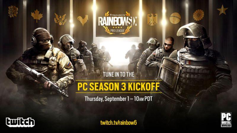 Anuncian tercera temporada de la competencia Tom Clancy's Rainbow Six Pro League - rainbow_six_siege_season_3_pc_-800x450