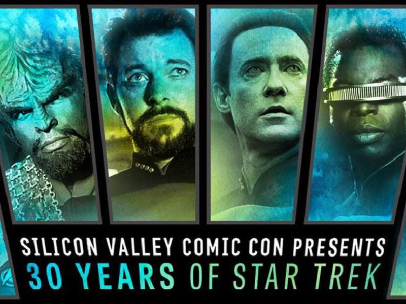 Elenco de 'Star Trek' encabezará Silicon Valley Comic Con 2017 - svcc-startrek-30-800x600
