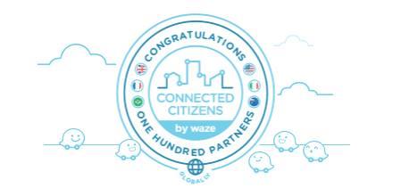 El Programa de Connected Citizens de Waze celebra su socio 100 - 2016-10-10