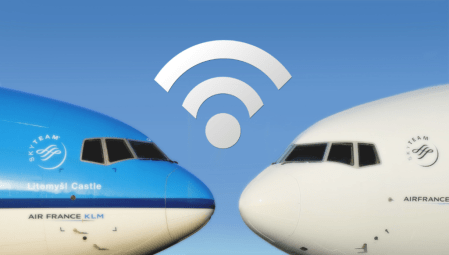 Air France-KLM tendrá WiFi en sus vuelos de larga distancia